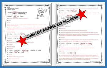 ENZYMES Task Cards for Middle and High School Biology Life Science Biochemistry
