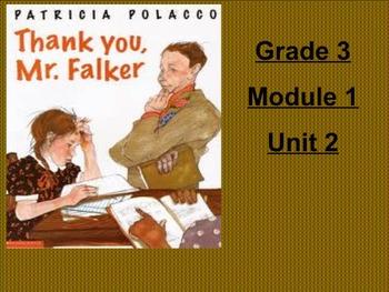 ENgage NY Grade 3 ELA Module 1 Unit 2