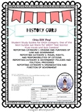 EOC Civics Review Category Study Guides