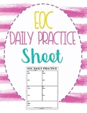 EOC Daily Practice Sheet