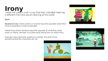 EOC Literary Terms #5