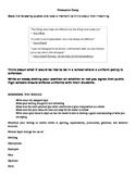 EOC Persuasive Essay Prompts for STAAR