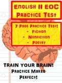 EOC Practice - High School English Cumulative Test - 7 Pages