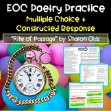 EOC Practice: Poetry Reading Comprehension and Questions