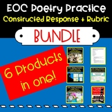 EOC Practice: Poetry Reading Comprehension and Questions BUNDLE