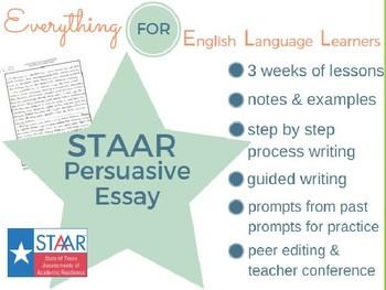 STAAR/EOC: Persuasive Essay