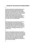EOC Testing Article: Benjamin Button