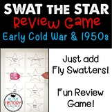 Early Cold War & 1950s Review Game:  Swat the Star STAAR Review