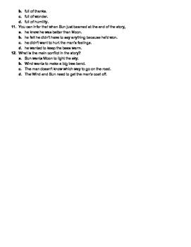 ELA Test Prep - Cold texts & questions