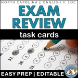 EOC/Exam Review Task Cards - Sub Plans