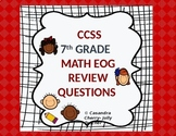 EOG/CCSS - 7th Gr. Math Review - State Test Prep.