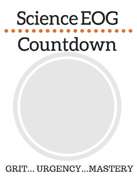 EOG/EOY Countdown Posters