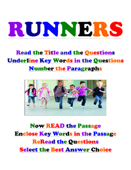 EOG Reading Prep Poster: Runners- Live In Letters Tier 2