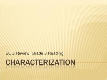 Mini-Lesson: Characterization