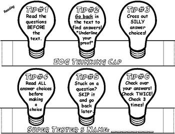 EOG/ Standardized Test Thinking Cap