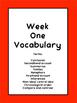 EOG Vocabulary for 4th and 5th Grade ELA