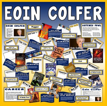 EOIN COLFER TEACHING RESOURCES ENGLISH READING KS2 AUTHOR ARTEMIS FOWL