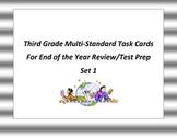 EOTY 3rd Grade Social Studies Task Cards Set 1