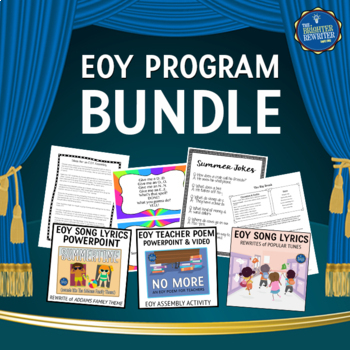 End of the Year Program Bundle