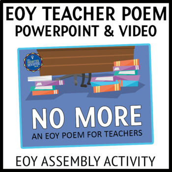 End of the Year Poem PPT