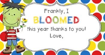 EOY Gift Tag | BLOOMED