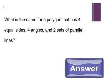 EOY Jeopardy Math Game