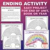 EOY Preschool PreK Grade End of Year, Topic, Book - Higher Order Thinking