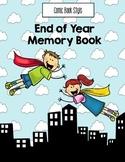 EOY Superhero Memory Book