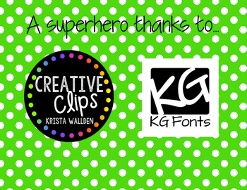 EOY Superlative Awards {Superhero Customizable Superlative Awards!}