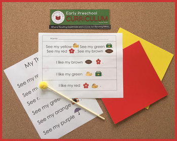 EP Comprehension and Literacy Stories