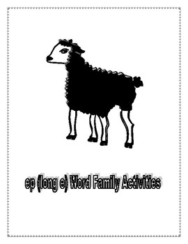 EP LONG E WORD FAMILY ACTIVITIES