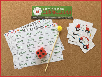 EP Roll and Read Sight Words