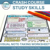 CrashCourse Study Skills Procrastination (episode 6)