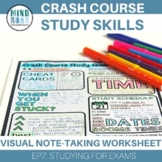 CrashCourse Study Skills Studying for exams and tests (episode 7)
