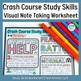 CrashCourse Study Skills Test Anxiety (episode 8)
