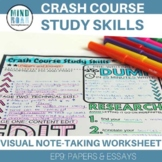 Crash Course Study Skills Visual Note-taking Episode 9 Papers and Essays