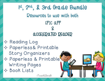 1st, 2nd & 3rd gr. Bundled Resources for EPIC App and Accelerated Reader