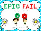 EPIC FAIL Paddles