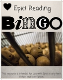 EPIC! Listen to Reading BINGO! Daily 5 Resource, Fiction a