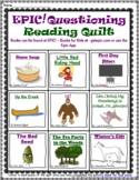EPIC! Questioning Reading Strategy Quilt With Graphic Organizers