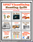 EPIC! Visualizing Reading Strategy Quilt With Graphic Organizers