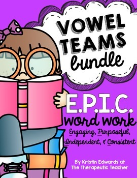 VOWEL TEAMS BUNDLE