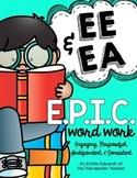 Vowel Teams EE EA