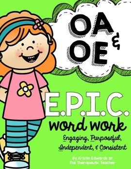 Vowel Teams OA OE