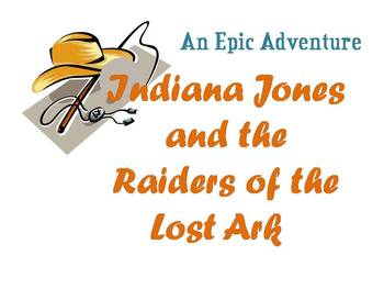 EPIC/Hero's Journey with Indiana Jones & the Raiders of the Lost Ark