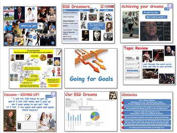 EPR / PSHE: Going for Goals