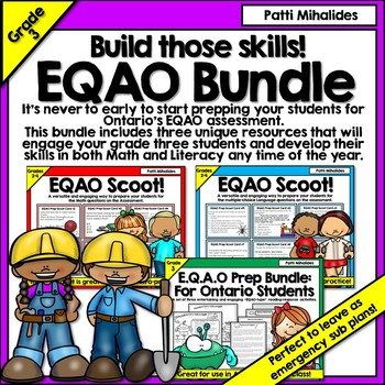 EQAO Assessment Bundle for Grade Three Students in Ontario