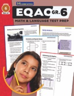 EQAO Grade 6 Test Prep - Both Math & Language Teacher Guid
