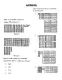 EQAO/OQRE Maths Français