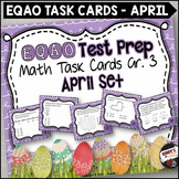 EQAO Math Task Cards - Grade 3 - April Set